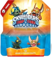Skylanders: Trap Team - Mini Double Pack (Drobit & Trigger Snappy)