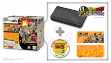 New Nintendo 3DS Black + Dragonball Z 1+2 + Cover Plate