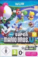 New Super Mario Bros U + New Super Luigi U (Wii U)