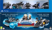 Skylanders: SuperChargers - Dark Edition Starter Pack (PS4)