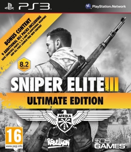 Sniper Elite III Ultimate Edition (PS3)