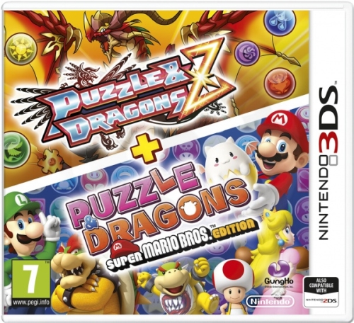 Puzzle&Dragons Z + Puzzle&Dragons Super Mario Bros. Edition (3DS)
