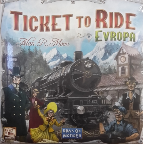 Ticket to Ride Evropa