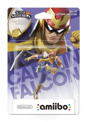 Nintendo Amiibo Smash Captain Falcon