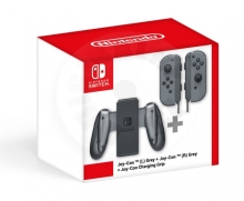Joy-Con (L) Grey + Joy-Con (R) Grey + Charging Grip (Switch)