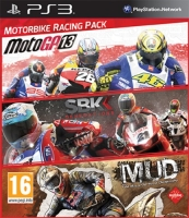 Motorbike Racing Pack: MotoGP 13 + SBK Generations + MUD (PS3)