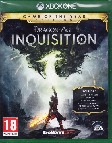 Dragon Age: Inquisition Game Of The Year (XONE)