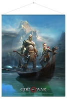 God of War - Father and Son - WallScroll