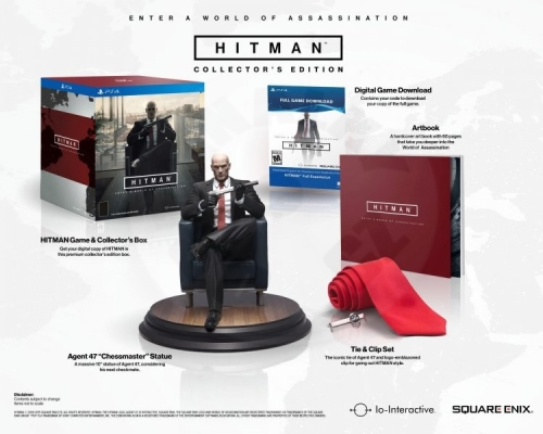 Hitman - Collector's Edition (PS4)