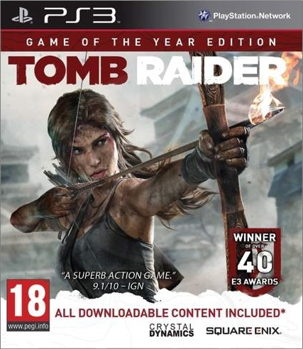 Tomb Raider - Game of the Year Edition (PS3)