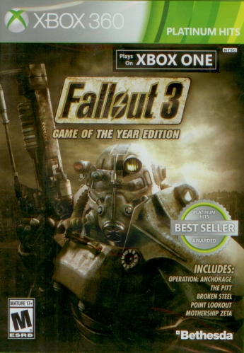 Fallout 3: Game of the Year Edition (X360) použité