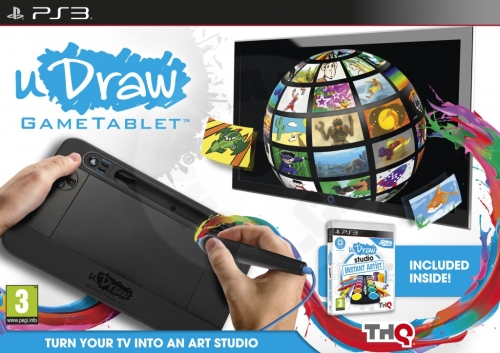 uDraw Game Tablet + u Draw Studio: Instant Artist (PS3)