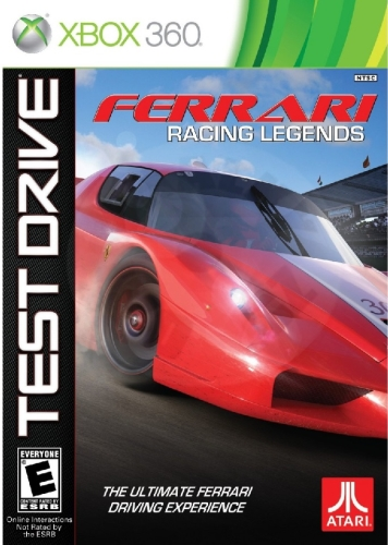 Test Drive: Ferrari Racing Legends (X360)