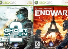 Ghost Recon: Advanced Warfighter 2 + Tom Clancy´s Endwar (X360)