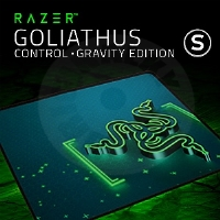Razer Goliathus - Control - Gravity Edition - Small (PC)