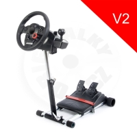 Wheel Stand Pro Deluxe V2, stojan na volant a pedály Log. GT/PRO/EX/FX a Thrustmaster T150