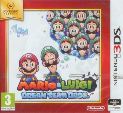 Mario & Luigi: Dream Team (3DS)