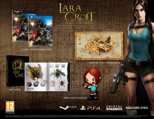 Lara Croft and the Temple of Osiris - Gold Edition (PS4)