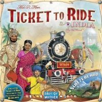 Ticket to Ride India + Switzerland - rozšíření