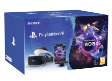 Sony PlayStation VR + Camera V2 + VR Worlds (PS4)