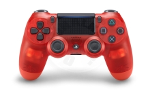 Sony DualShock 4 Translucent Red V2 (PS4)