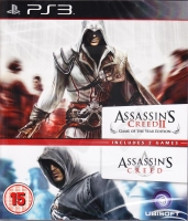 Assassin´s Creed II Game of the Year Edition + Assassin´s Creed (PS3) použité