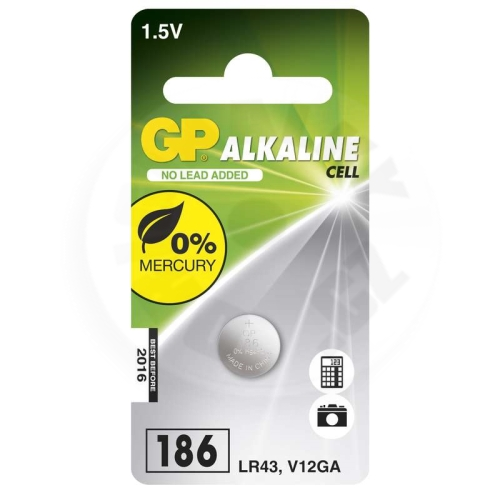 GP Alkaline Cell LR43