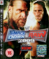 WWE SmackDown vs. Raw 2009 (PS3) použité