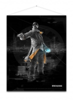 Watch_Dogs - Aiden Pearce - Wallscroll