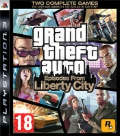 Grand Theft Auto: Episodes from Liberty City (PS3) použité