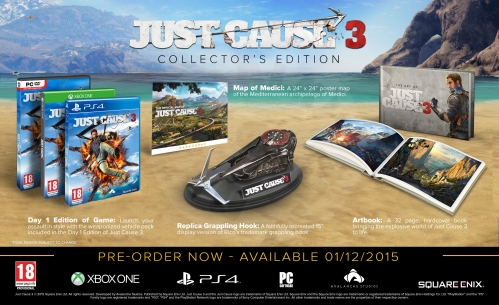 Just Cause 3 - Collector's Edition (PS4)