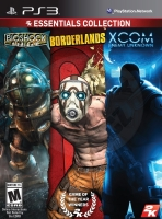 Essentials Collection: Bioshock + Borderlands + XCOM: Enemy Unknown (PS3)