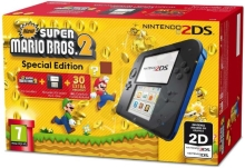 Nintendo 2DS Blue + Red + New Super Mario Bros 2