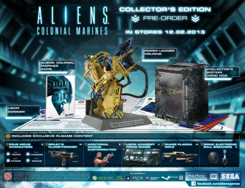 Aliens: Colonial Marines - Collector´s Edition (X360)