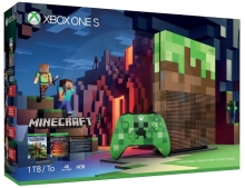 Microsoft Xbox One S 1 TB Minecraft Limited Edition Bundle