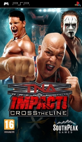TNA Impact!: Cross The Line (PSP) použité