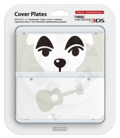 New 3DS Cover Plate Dog