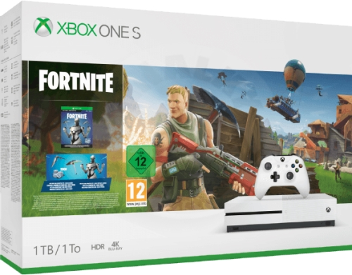 Microsoft Xbox One S 1 TB Fortnite bundle
