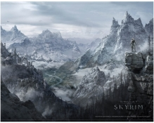 The Elder Scrolls V: Skyrim - Valley - WallScroll