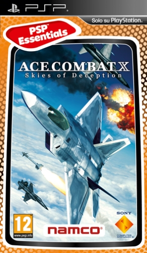 Ace Combat X: Skies of Deception (PSP) použité