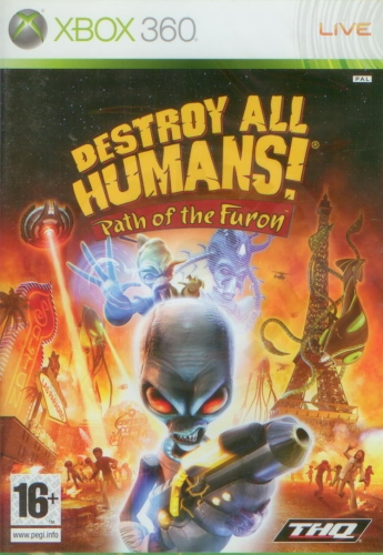 Destroy All Humans! Path of the Furon (X360)