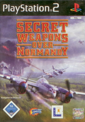 Secret Weapons Over Normandy (PS2) použité