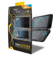 Steelplay Screen Protection Kit - 9h Tempered Glass (2DS)