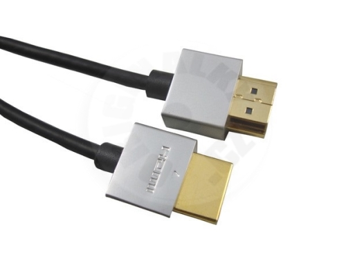 PremiumCord Highspeed + Ethernet HDMI Cable, slim,  M/M