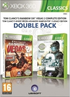 Tom Clancy´s Rainbow Six: Vegas 2 + Ghost Recon: Advanced Warfighter 2 (X360)