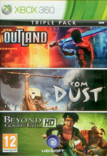 Triple Pack: Beyond Good & Evil + Outland + From Dust (X360) použité