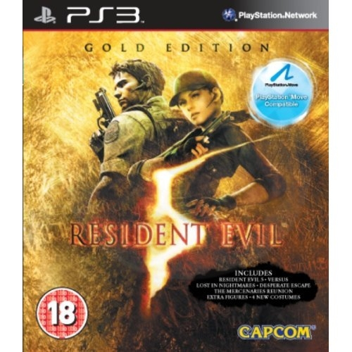 Resident Evil 5: Gold Edition - Move Compatible (PS3) použité