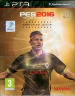 Pro Evolution Soccer 2016 - 20th Anniversary Edition (PS3)