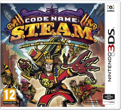 3DS Code Name S.T.E.A.M. (3DS)