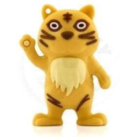 Bone Collection 4 GB USB 2.0 Flash Memory - Tiger Driver